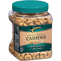 Planters Fancy Whole Cashews with Sea Salt - 33 oz.