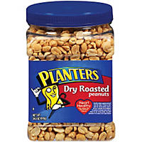 Planters Dry Roasted Peanuts - 35 oz.