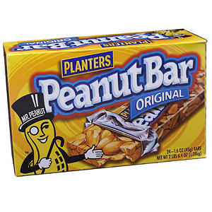 Planters Peanut Bar - 1.6 oz. - 24 bars
