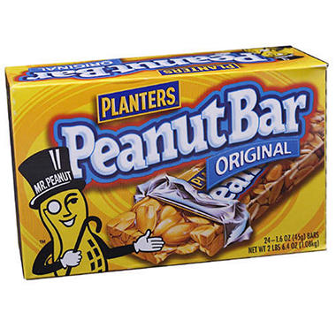 Planters� Peanut Bar - 1.6 oz. - 24 bars