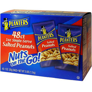 Planters? Salted Peanuts - 1 oz. (48ct.)