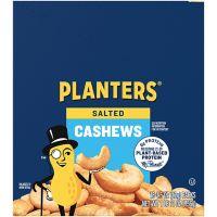 18-Pk. Planters Salted Cashews