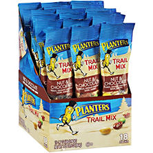 Planters Nut & Chocolate Trail Mix (1.7 oz., 18 pk.)