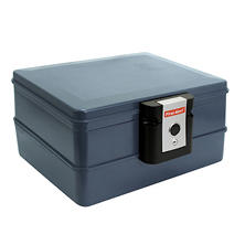 Waterproof Fire Chest Safe - 0.39 Cubic Feet