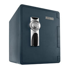 First Alert 2096F-BD Ready-Seal Waterproof Fire, Bolt Down Safe with Combination Lock & Handy Hauler (2.14 cu ft.)