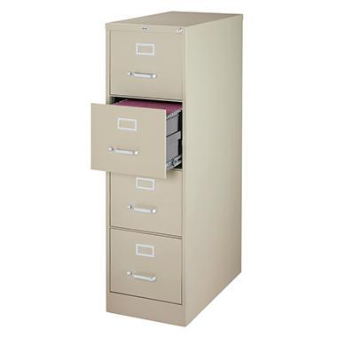Hirsh - 4-Drawer Letter File Cabinet 26.5
