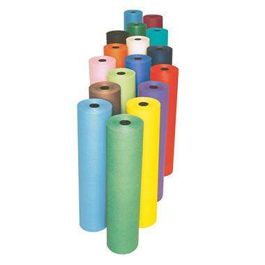 Rainbow Kraft Duo Finish Fiber Light Weight Kraft Paper Roll, 40 Pound, 48 Inches X 200 Feet, Orange