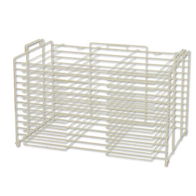 "Pacon - Board Storage/Drying Rack, 28"" - White"