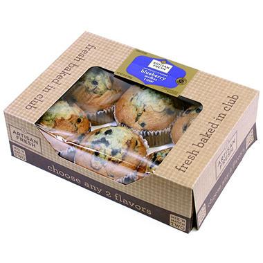 Artisan Fresh Muffins - Choose Any 2