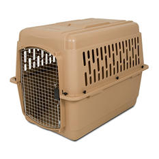 "Aspen Pet 36"" Dog Kennel Carrier, 50-70 lbs."