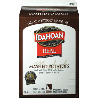 Idahoan Real Mashed Potatoes - 6 pk.