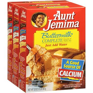 Aunt Jemima® Buttermilk Complete Pancake & Waffle Mix - 3/32 oz.