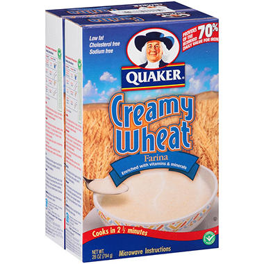 Quaker� Farina Creamy Wheat - 28 oz. - 2 ct.