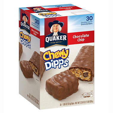 Quaker Chewy Dipps Chocolate Chip Granola Bars
