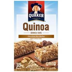 Quaker Quinoa Chocolate Nut Medley Granola Bars (18 ct.)