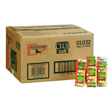 Keebler® Club® Crackers - 300/2 ct. packages