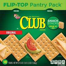 Keebler Club Crackers with Flip-Top Packaging (18 ct.)
