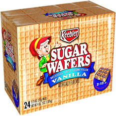 Keebler Sugar Wafers Vanilla (2.75 oz., 12 ct.)