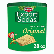 Keebler Export Soda Crackers - 28 oz. tin