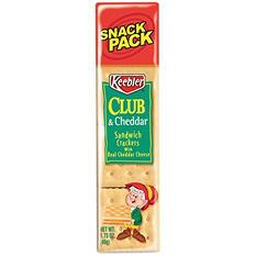 Keebler Club and Cheddar Sandwich Crackers (2.2 oz., 12 pk.)