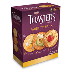 Keebler Toasteds Party Pack Cracker Assortment (40 oz.)