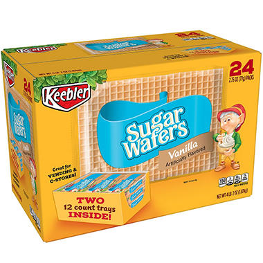 Keebler® Sugar Wafers - 2.75 oz. - 24 pkgs.
