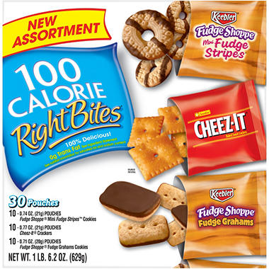 Kellogg's Right Bites Variety Pack - 30 ct.