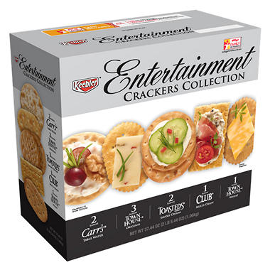 Keebler® Entertainment Crackers Variety Pack - 37.44 oz.