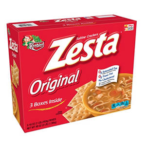Keebler Zesta Saltines - 16 oz. box - 3 pk.