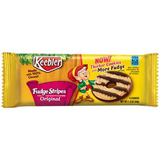 Keebler Fudge Stripes Original Cookies (1.9 oz., 12 ct.)