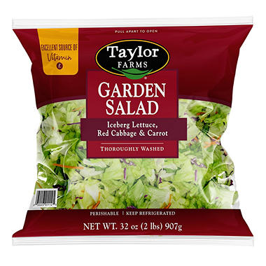 Taylor Farms Garden Salad - 32 oz.