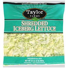 Taylor Farms Shredded Iceberg Lettuce (2 lb.)
