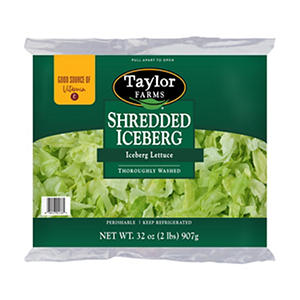 Taylor Farms Shredded Iceberg Lettuce (32 oz.)