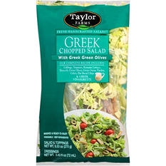 Taylor Farms Fresh Handcrafted Salads Greek Chopped Salad Kit