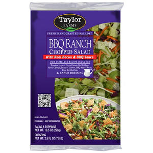 Taylor Farms BBQ Ranch Chopped Salad Kit