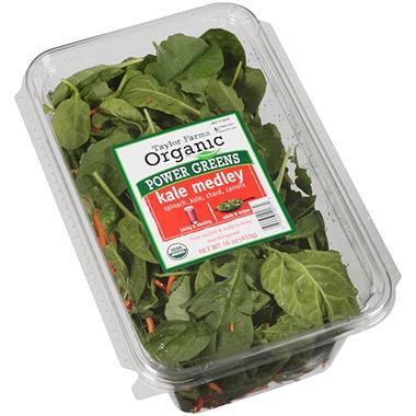 Taylor Farms Organic Power Greens Kale Medley (16 oz.)