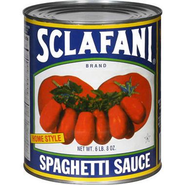 Sclafani® Spaghetti Sauce - 104oz