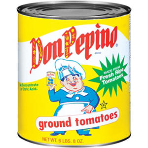 Don Pepino® Ground Tomatoes - 104 oz.