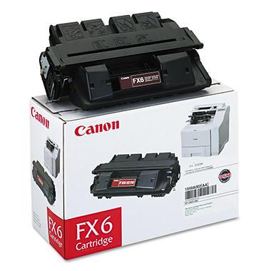 Canon FX6 Toner Cartridge, Black (5,000 Yield)