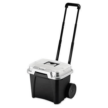 Rubbermaid Roughneck Wheeled Portable File Box