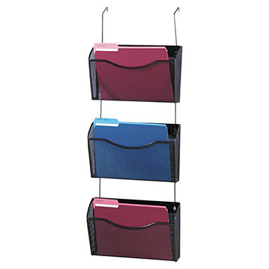 Eldon Expressions Mesh Hanging Wall Files - 3 pk.