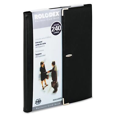 Rolodex™ Neo Classic Business Card Book