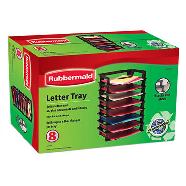 Rubbermaid Regen Letter Trays - 8 pk.