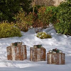 Sugared Grapevine Gift Boxes