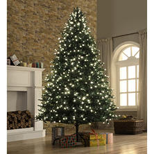 Member's Mark 9' Bristle Fir Christmas Tree with One Plug Quick Connect