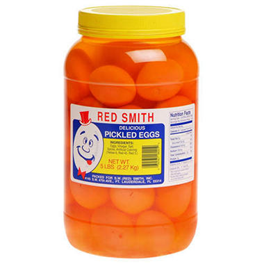 Red Smith Pickled Eggs - 5 lb. jar
