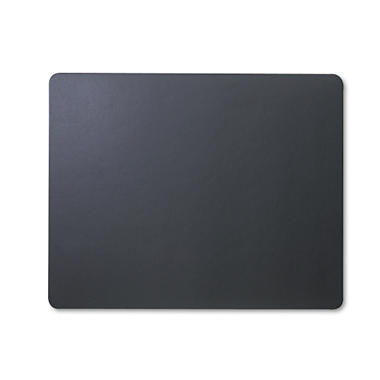 ARTISTIC - Rhinolin Desk Pad, No Side Panels, 36 x 20, Black
