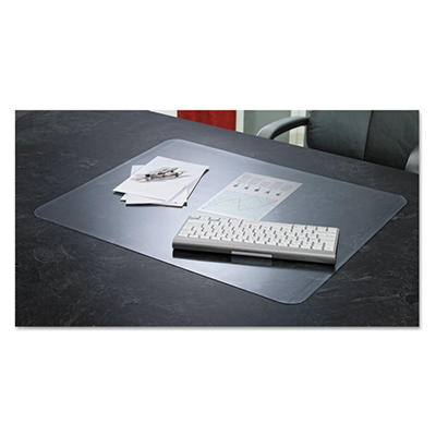 Artistic - KrystalView Desk Pad with Microban, Glossy, 38 x 24 -  Clear