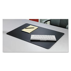 Artistic - Rhinolin II Desk Pad with Microban,17 x 12 - Black