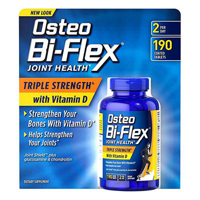 Osteo Bi-Flex Triple Strength w/ Vitamin D - 190 ct.